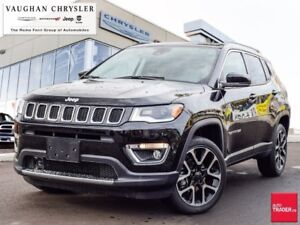 2018 Jeep Compass Limited 4X4 * Panoramic Sunroof * Navigation