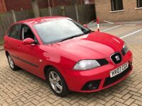 2007 SEAT IBIZA 1.2 70 REFERENCE SPORT PETROL MANUL 5 DOOR HATCHBACK 5 SEAT CHEAP INSURANCE N POLO