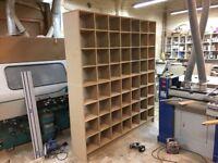 Bespoke carpentry - hand made kitchens- wardrobes-stairs-also all 2nd fix carpentry undertaken.