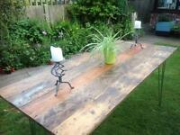 Rustic / Industrial Dining Table