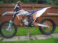 2008 KTM 144 SX IN EX COND