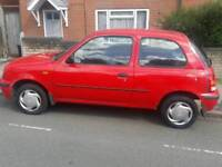 NISSAN MICRA 998 cc 1 OWNER FROM NEW 1 YEARS NOT FULL SERVICE HISTORY