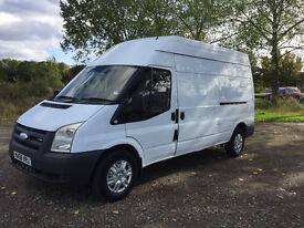 FORD TRANSIT 2.4 TDCI 2006 56 REG - LONG WHEEL BASE / HIGH ROOF - DRIVES WELL - NO VAT!!!!!!!!!