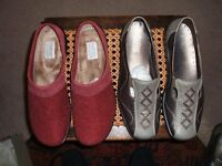 Hotter ladies size 7 slipper and shoes