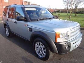 2007 LAND ROVER DISCOVERY 4X4 3 2.7 TD V6 XS 5dr F/S/H DIESEL AUTO 7 SEATER