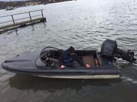 12ft speedboat and 40hp suzuki outboard - will only sell together