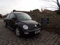 Volkswagen Beetle In Black, 2000 W reg, Cambelt Kit/Water Pump Replaced At 96,355 Miles
