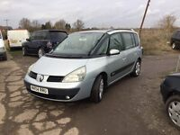 7 SEATER DIESEL AUTOMATIC RENAULT ESPACE FULLY LOADED CAR IN LOVEKY CONDITION AIR CON SUNROOFS