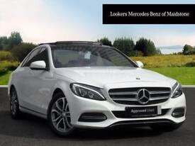 Mercedes-Benz C Class C220 BLUETEC SPORT PREMIUM (white) 2014-10-21