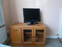 Wooden TV cupboard