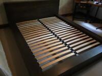 Solid oak bed frame, drawers & bedside cabinets Set