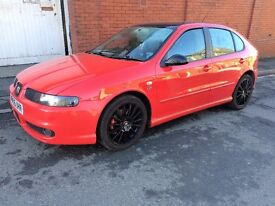 FOR SALE SEAT LEON 1.8 20V TURBO***LOTS OF NEW PARTS****