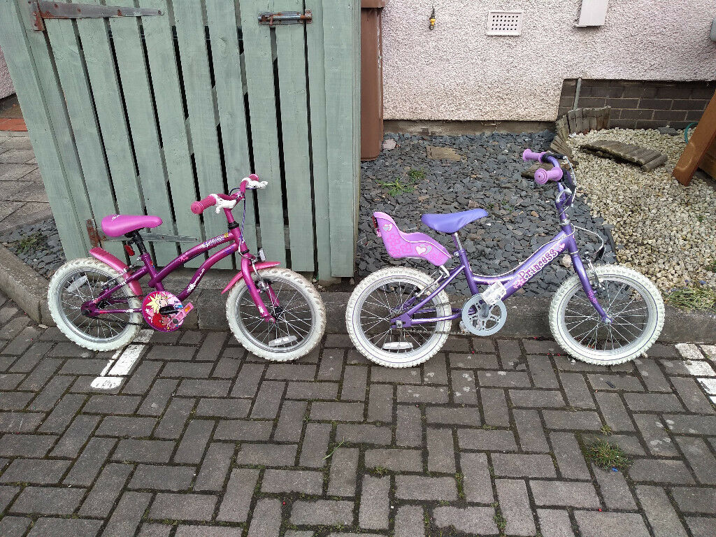 46cf3989a9e 16 inch Wheel Children's Bikes ( Likely for Girls ) for sale. | in ...