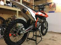 Ktm sxf 250 2016 with optional extras from new ( mint example with 35hrs)