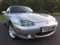 2005 Mazda MX5 Icon 1.8 in Silver...ONLY 42,000 MILES