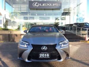 2016 Lexus GS 350 F Sport 2 AWD Navi Backup Cam Bluetooth Sunroo