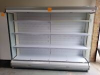 Remote Arneg Avon Multi - Deck 2.5 metre shop chiller with condensing unit (fitting inc) AST181