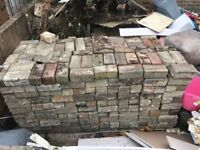 FREE OF CHARGE used Block Paving - Collection only
