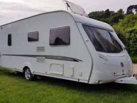 Swift challenger 540 Fixed Bed
