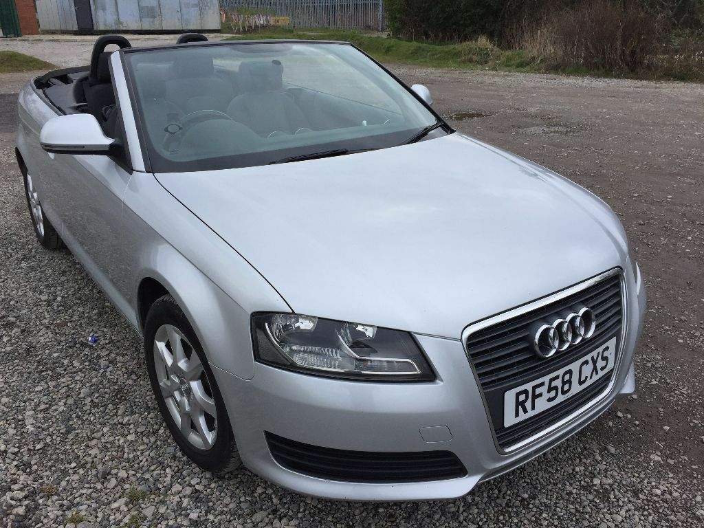 2008 audi a3 1 9 tdi 2dr convertible in lymm cheshire gumtree. Black Bedroom Furniture Sets. Home Design Ideas