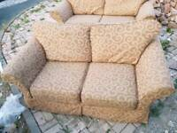Sofa - 3 + 2 Seater Comfy Fabric Sofa Set