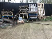 WOODEN PALLETS, FREE TO A GOOD HOME