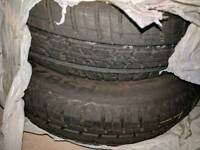 Four 165/70r14 HIFLY tyres