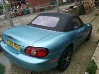 Mazda mx5 low miles, swap