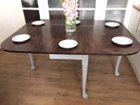 SOLID WOOD VINTAGE TABLE FREE DELIVERY LDN 🇬🇧