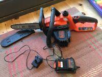 Black & Decker Cordless Chainsaw