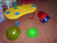 hamster cage and accessories very good condition
