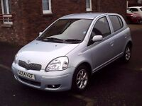 2005 54 TOYOTA YARIS 1.3 VVT-I 5DR ** SERVICE HISTORY * VERY TIDY EXAMPLE ** ONE OWNER +MAIN DEALER