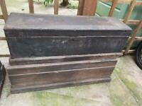 Victorian chests and trunk
