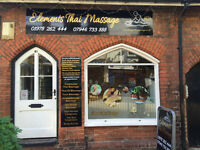 Elements Thai Massage and Tok Sen helping people with backaches and pains, In the Centre of Wrexham