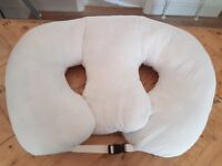 SUPPORT FEEDING PILLOW FOR TWINS The original 'Z' pillow from the US.
