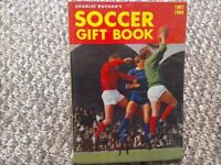 Vintage Football Book 1967-68 Soccer Gift Book Charles Buchan's Hardback Football Memorabilia book