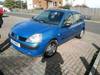 * 2OO4 RENAULT CLIO *