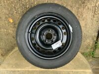 Vauxhall Meriva Spare Wheel with unused Michelin Tyre 185/60 R15 88H