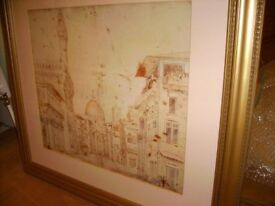 Laura Ashley - perfect condition - beautiful large picture - top quality