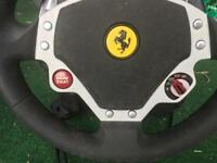 Ferrari steering wheel and pedals with force feedback for PC