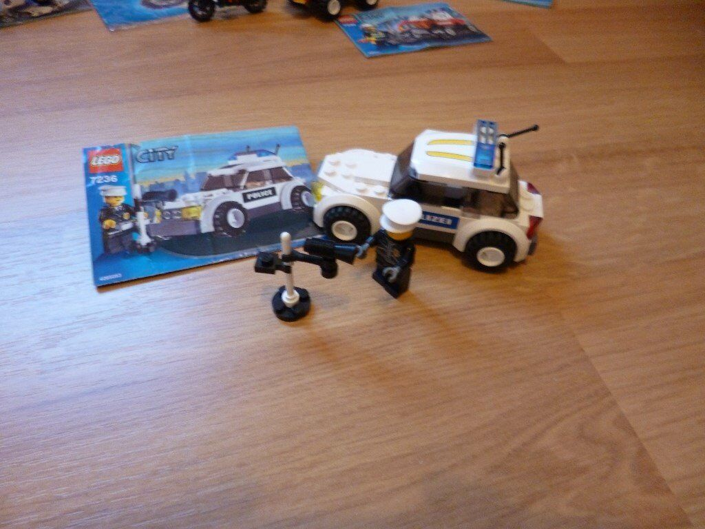 Lego City Set 7236 Police Car Man And Speed Gun In Liverpool