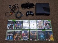 Xbox 360 slim with 13 games and kinect