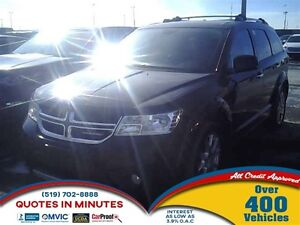 2014 Dodge Journey R/T | AWD | LEATHER | 5PASS | HEATED SEATS