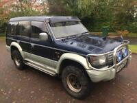 1 year Mot winter 4wd Mitsubishi pajero exceed 2.8 turbo diesel automatic 7 seater