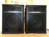 Pair of Carlsbro Alpha 15 Speakers 150W 8 Ohms
