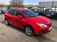 SEAT IBIZA 1.4 PETROL 2011 /2 KEYS /12 MONTH MOT /TIMING BELT DONE /2 KEEPERS /FSH