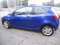 MAZDA 2 SPORT,1498 cc 3 door hatchback,full MOT,stunning looking car,runs and drives as new