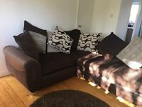 COMPLETE HOME STARTER PACK - SOFA, DINING SET, KINGSIZE BED, MIRRORS, LAMP