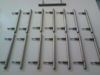 Chrome Cupboard Handles x 15