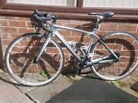 Trek 4.7 carbon fibre road bike